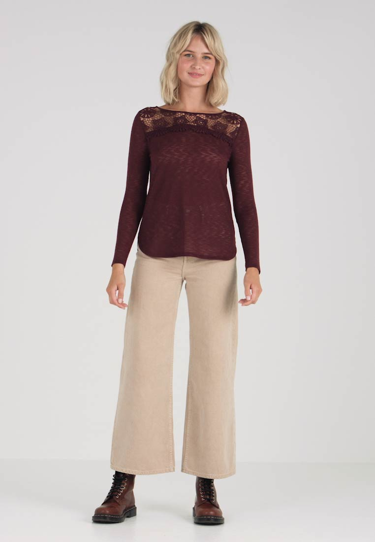 Top Long Onlpure Port Only Royale Sleeved tBFxWHWq