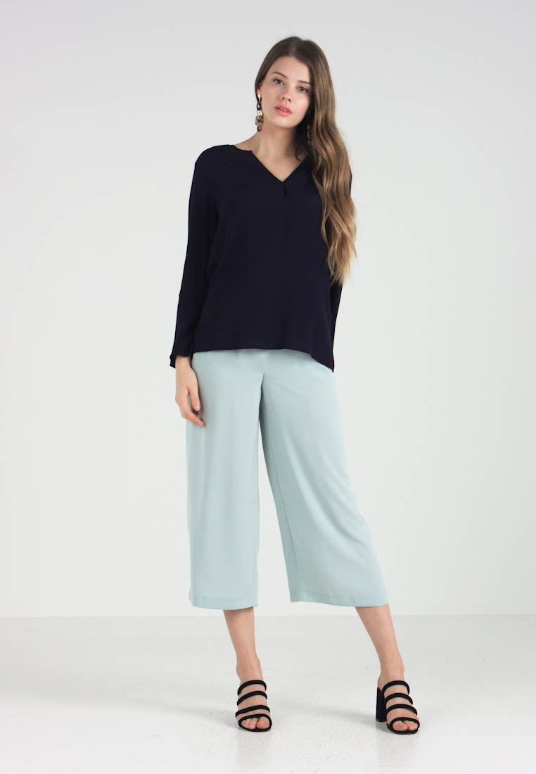 Sleeve Night Onlflorence Sky Blouse Only qt5wxvv