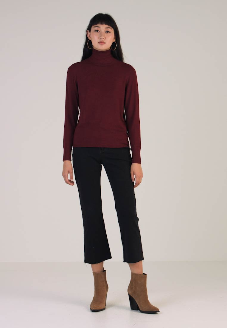 Truffle Chocolate Rollneck Only Onldina Jumper vOHFq