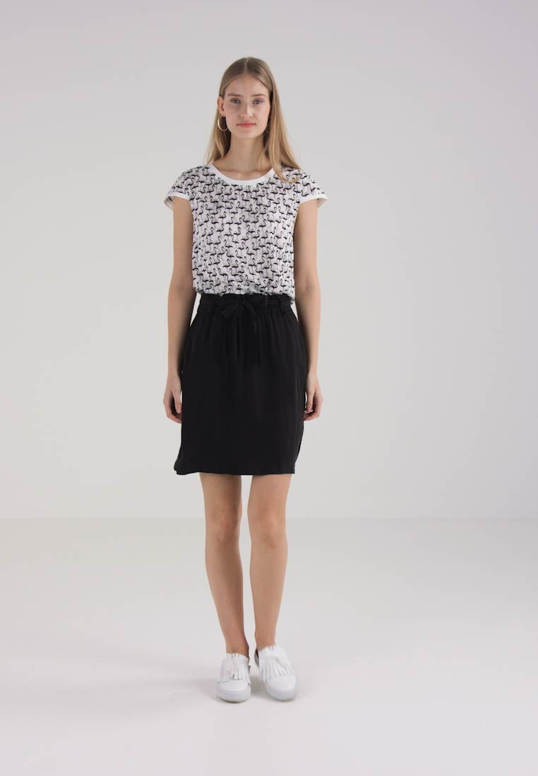 one more story SKIRT - Jupe trapèze - black