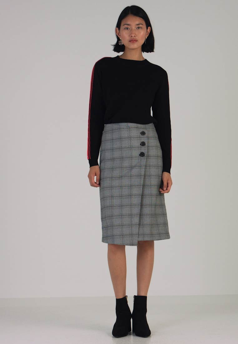 one more story - SKIRT - A-line skirt - black