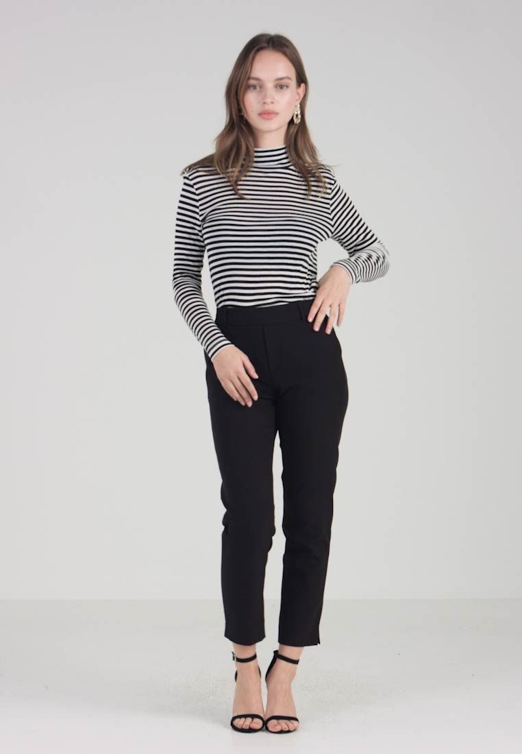 ONLY Petite - ONLGLOWING MID PANT  - Kalhoty - black