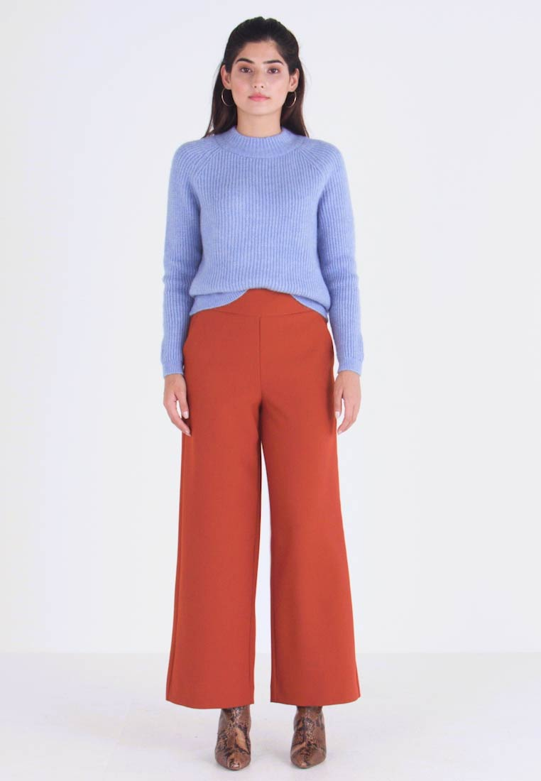 ONLY Petite - ONLINCA WIDE PANTS - Kalhoty - ginger bread