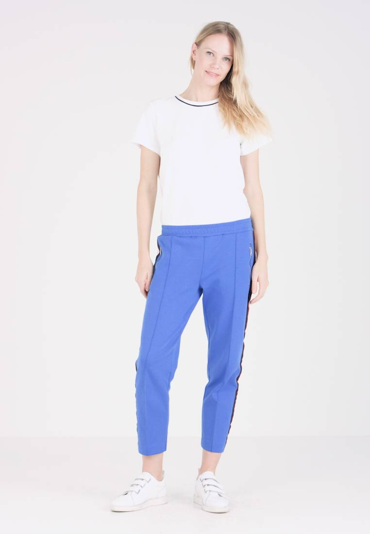 Marc O'Polo DENIM - TRACK PANTS - Jogginghose - blue hydrangea