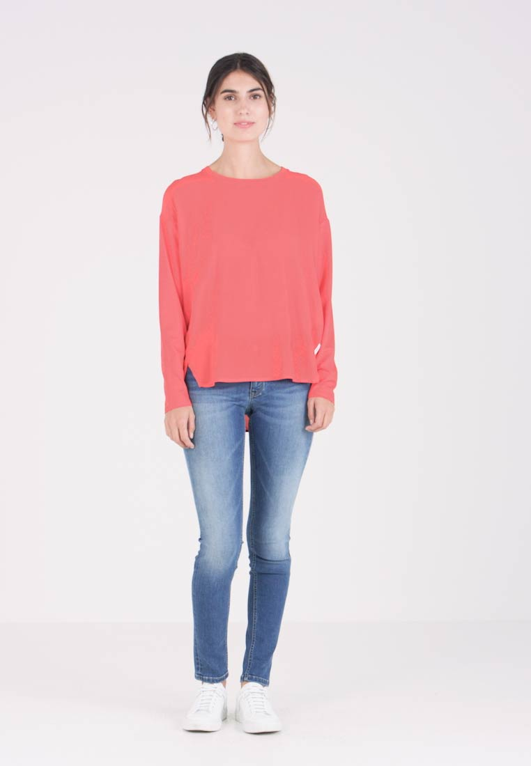 Marc O'Polo DENIM - BLOUSE PATCH - Blouse - red