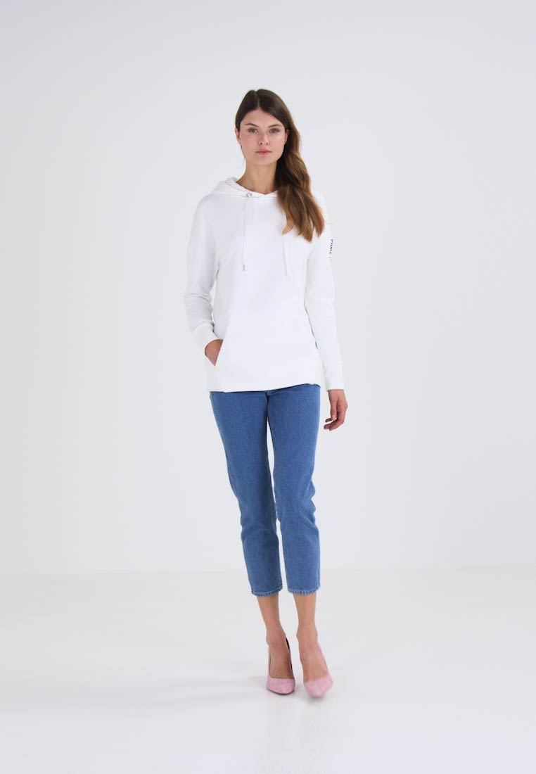 Marc O'Polo DENIM Jersey con capucha tinted white