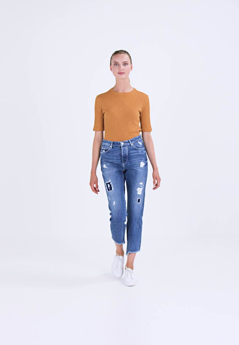 Marc O'Polo DENIM Jean boyfriend destroyed denim