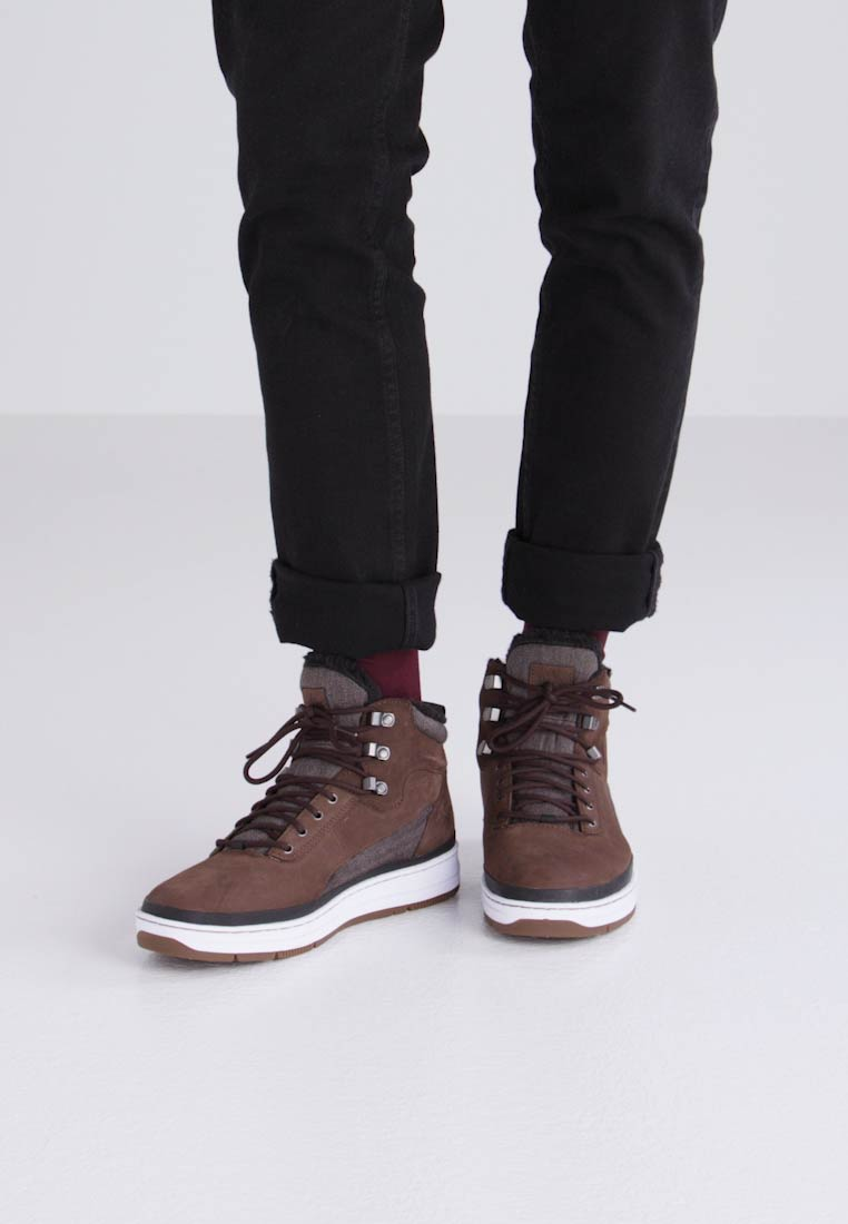 Trainers Park Dark top Authority Brown High Gk 3000 wzqrXqO1