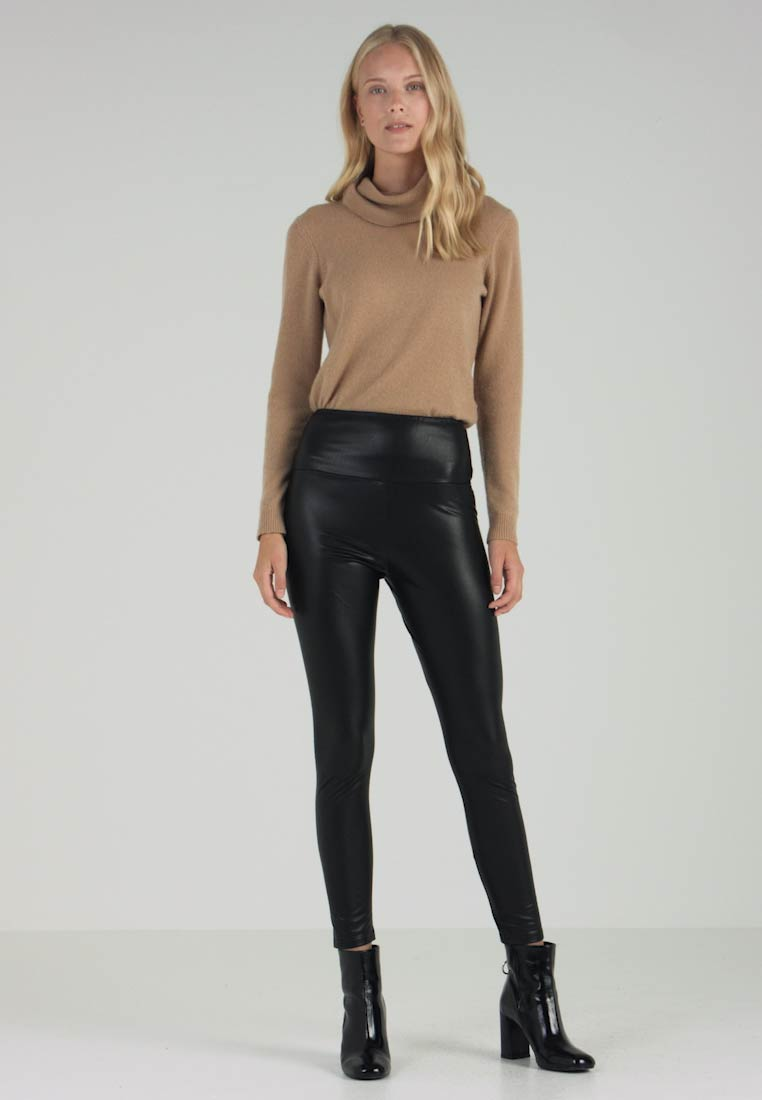 Opus - ELYSSA - Leggings - Trousers - black