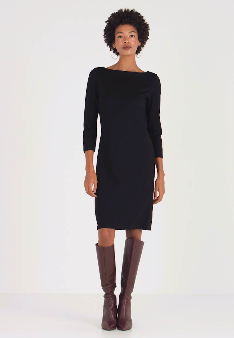 Opus - WILLY - Shift dress - black