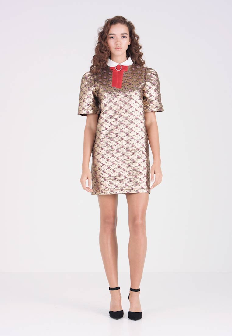 Sister Jane - ENIGMA BOX SLEEVE DRESS - Cocktail dress / Party dress - gold