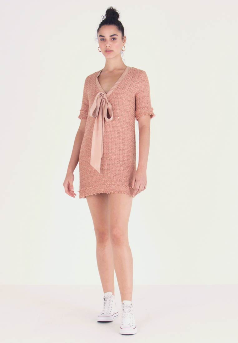Sister Jane - UP AND UP DRESS - Day dress - coral