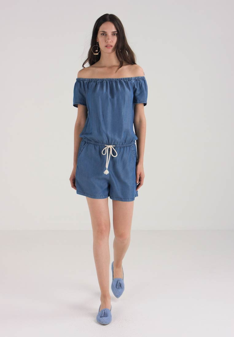 s Blue Q Overall heavy Designed By Denim Stone Jumpsuit Washed 7FFwxBHnq