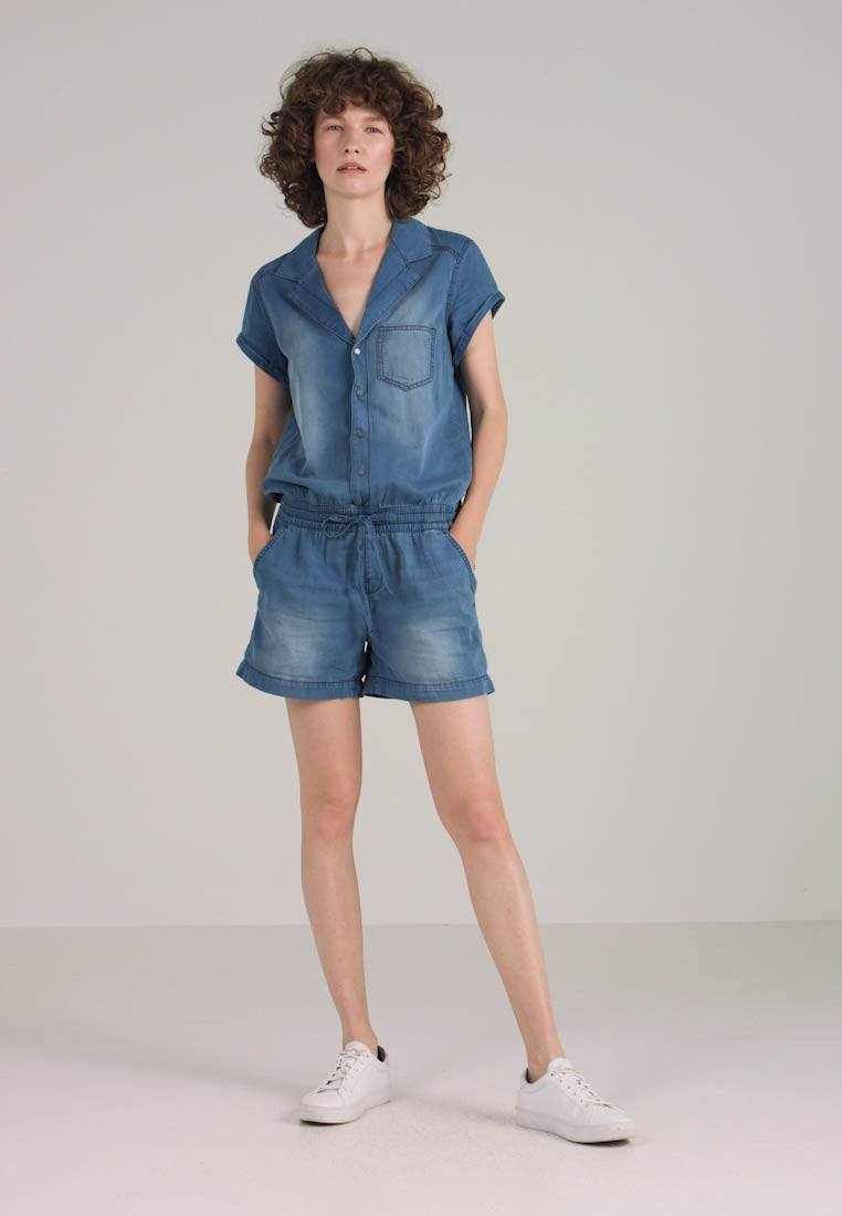 OVERALL Jumpsuit designed S by Q tw0qTIx8