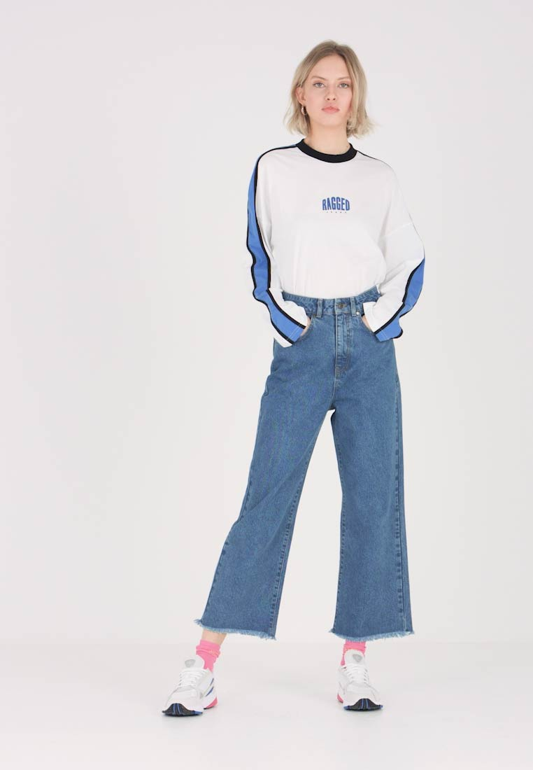 Ragged Jeans - Flared Jeans - mid blue