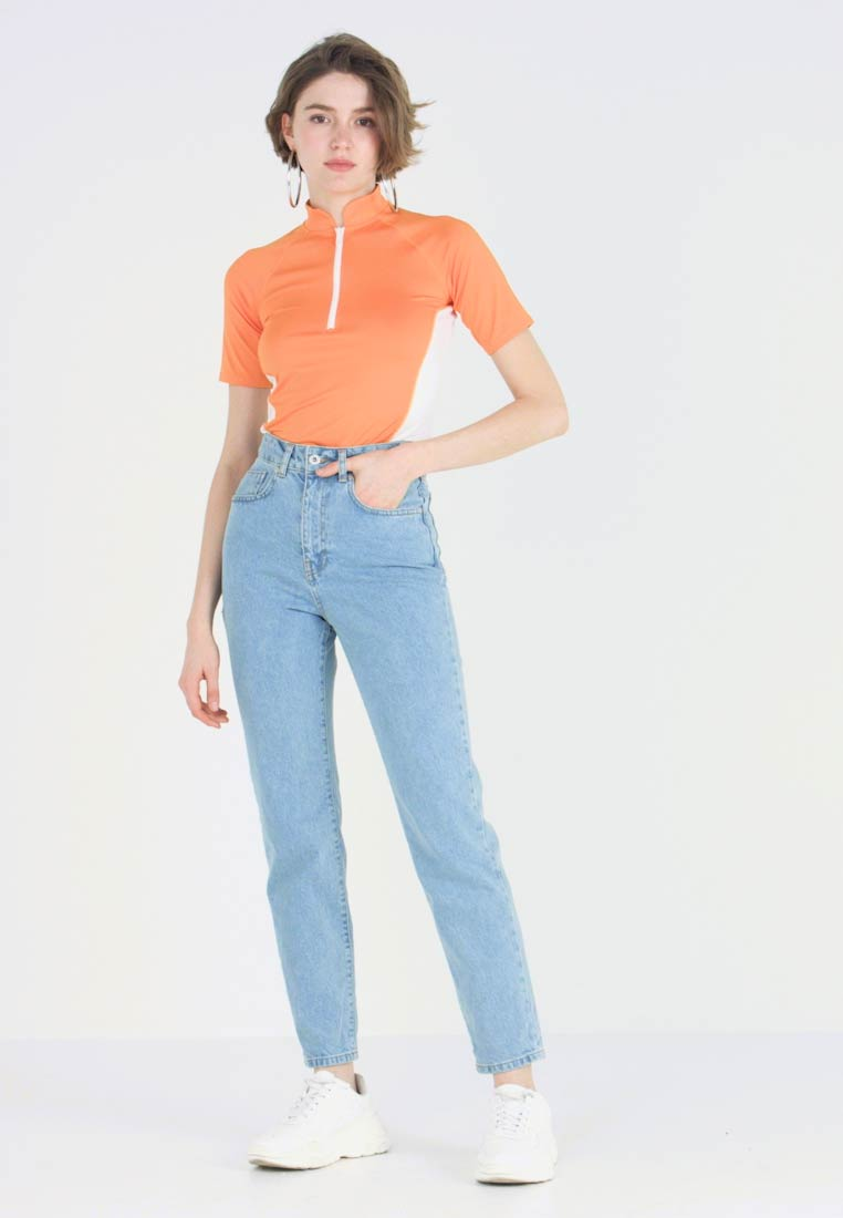 Ragged Jeans - BUTT CUT - Jeans Relaxed Fit - light blue