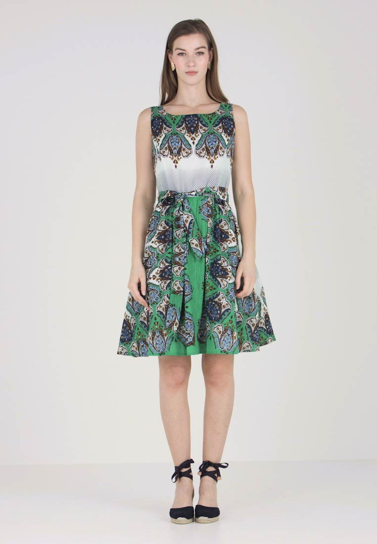 Derhy - FRANQUETTE - Day dress - vert