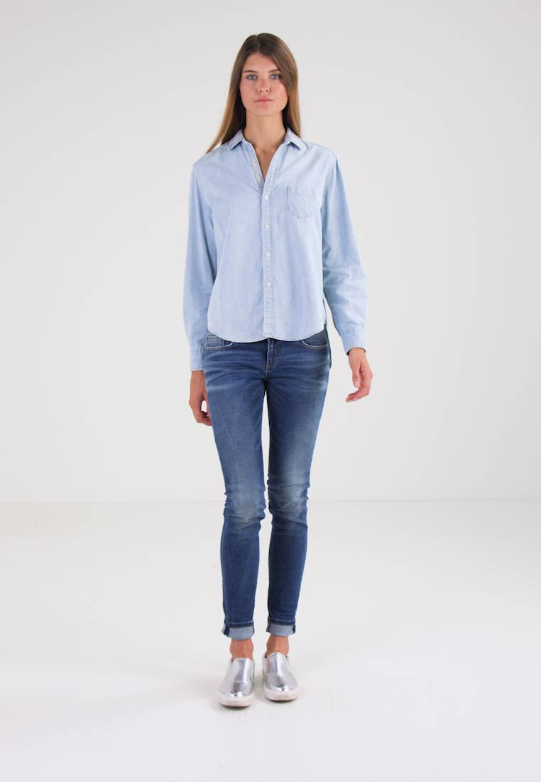 Replay Skjorte - light-blue denim