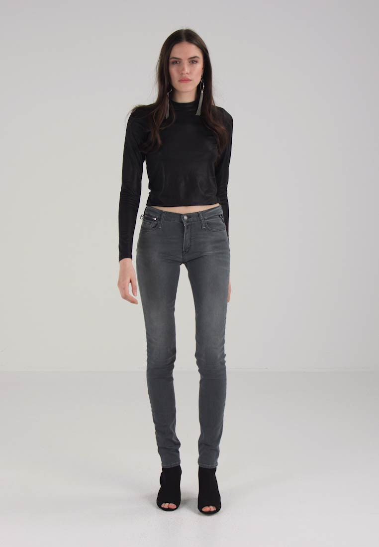 Replay ZACKIE - Jeans Skinny Fit - grey denim