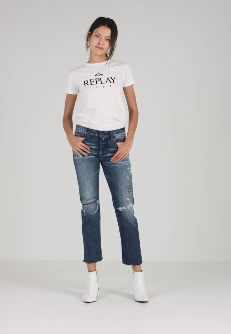 Replay - JOPLYN - Jeans Relaxed Fit - medium blue