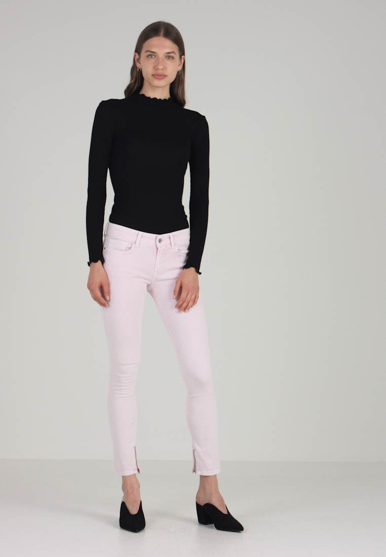 Replay - LUZ ANKLE ZIP - Jeans Skinny Fit - pink
