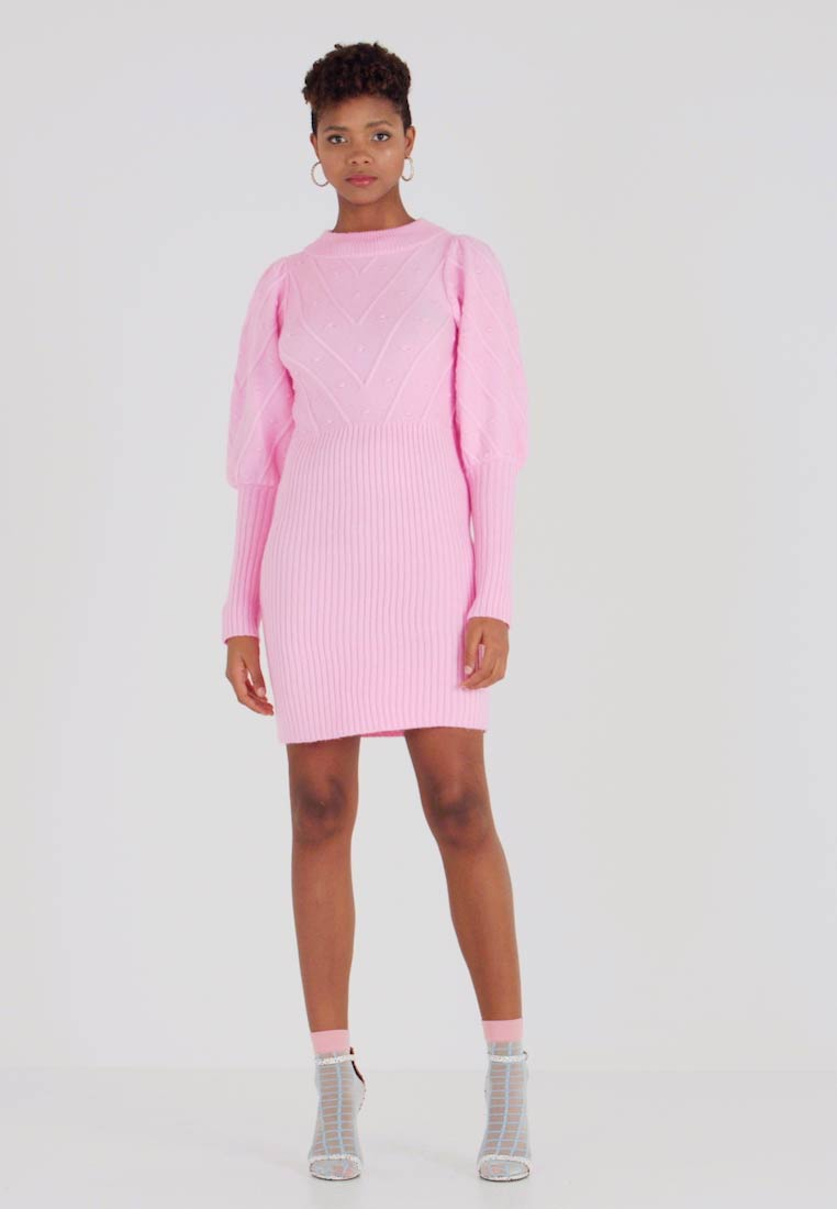 River Island - Strickkleid - pink