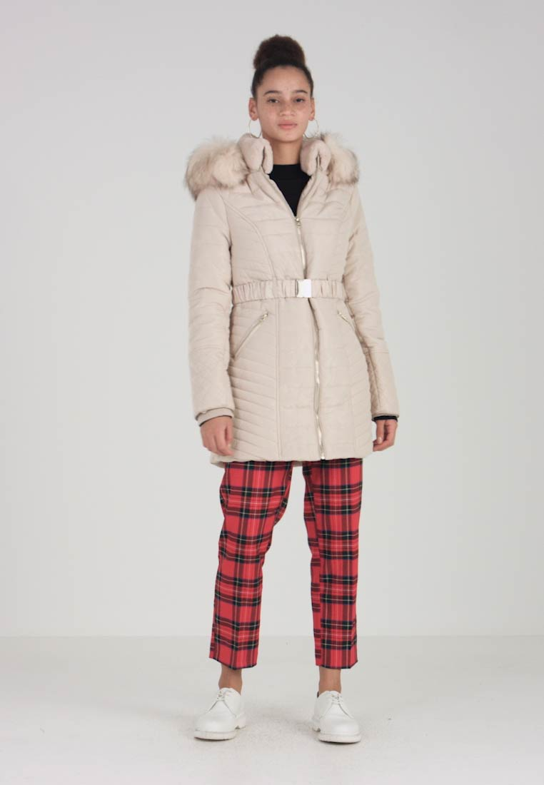 River Island - Wintermantel - cream