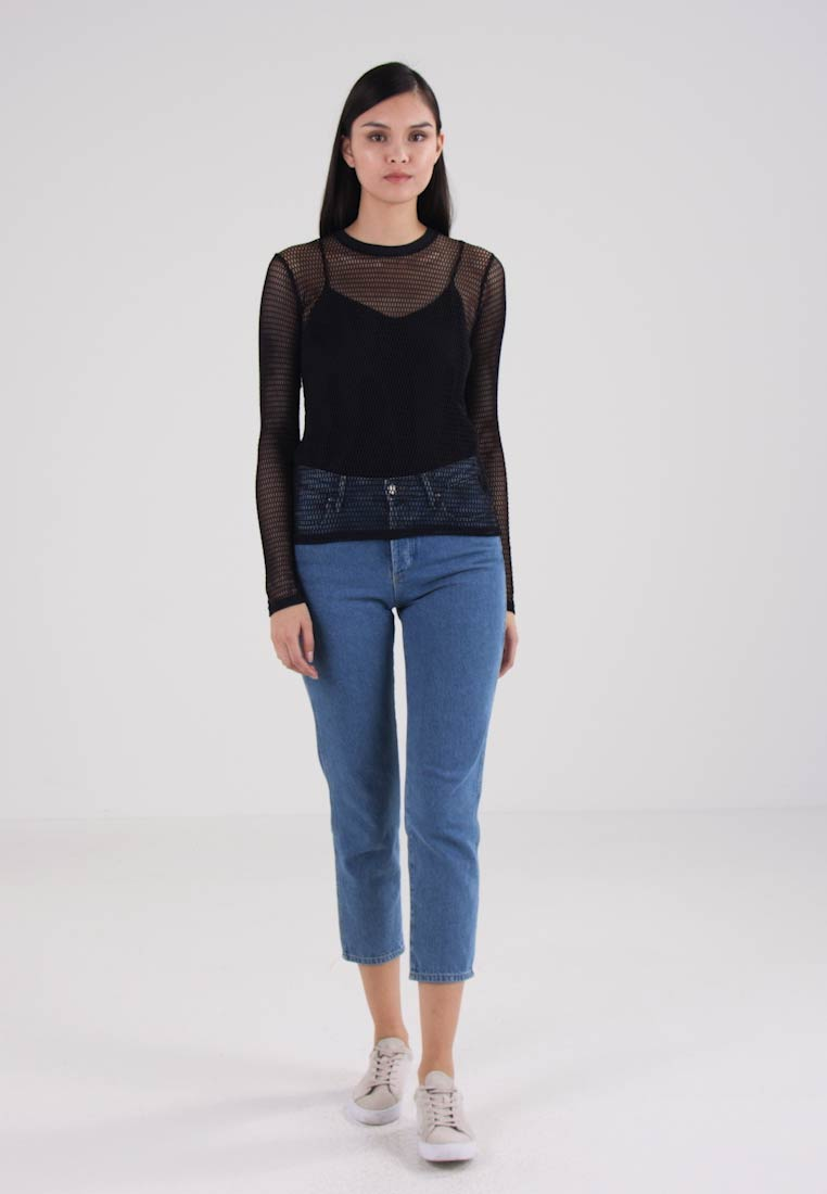 amp; Samsøe Long Sleeved Emii Black Top HqqwR