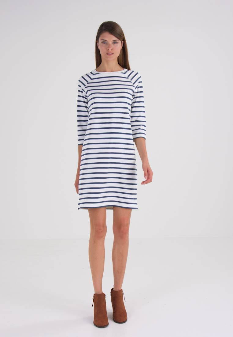 Selected Femme Jerseykjole orion blue/snow white