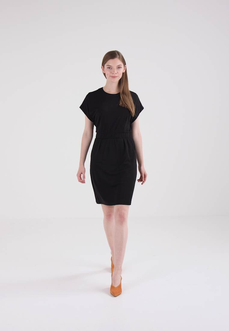 Selected Femme SFMELLA DRESS - Sommerkjole - black
