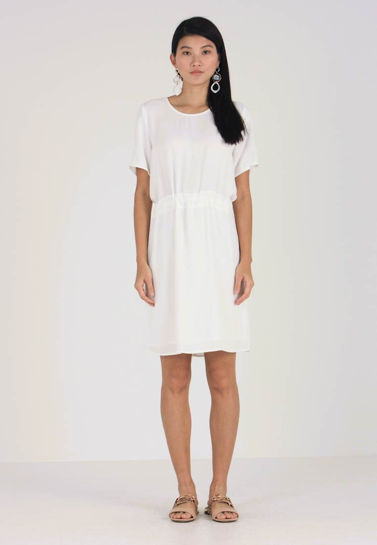 Slftanna Dress White Snow Selected Freizeitkleid Femme RzwERq5