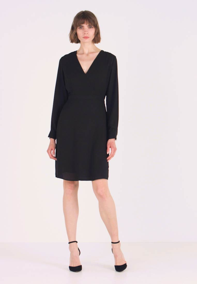 Selected Femme - SLFDANIELLA DRESS - Day dress - black