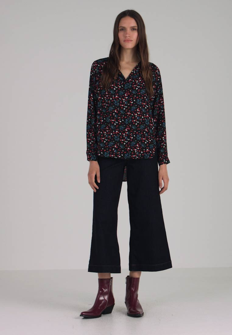 Selected Femme - SLFDYNELLA - Bluse - black/true red