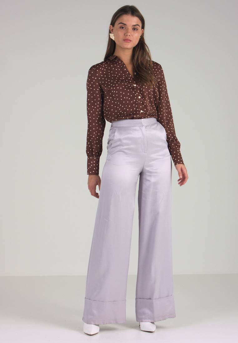 Selected Femme - SLFEVELY - Skjortebluser - cappuccino