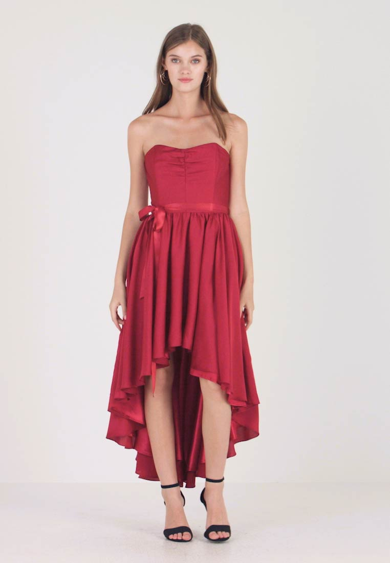 Robe de cocktail , rot