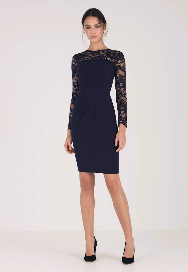 Sista Glam - JULIENN - Cocktail dress / Party dress - navy