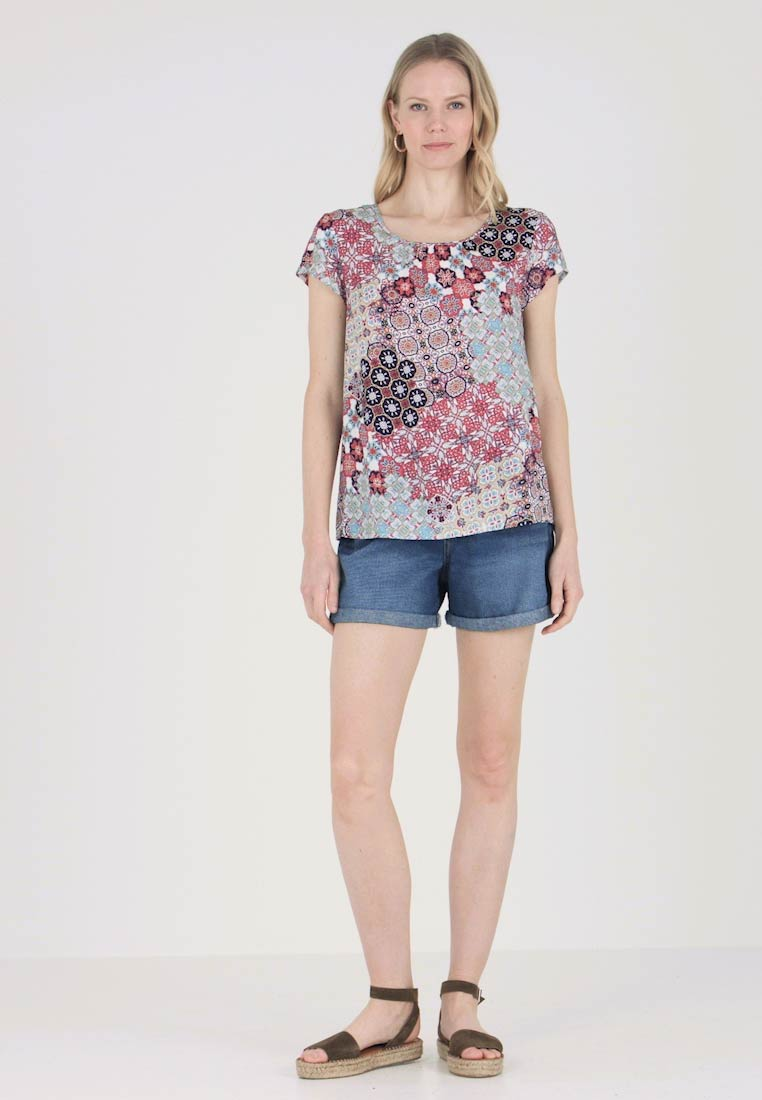 Soyaconcept - VIENNA - Blouse - coral/red/combi