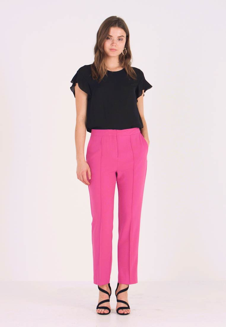 Soaked in Luxury - HAYLEY PANTS - Trousers - purple orchid