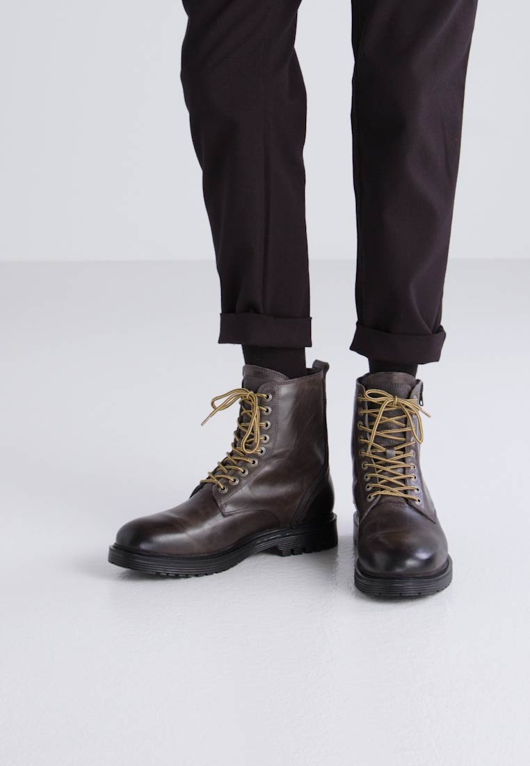 Sneaky Steve PARAGON - Botines con cordones charcoal