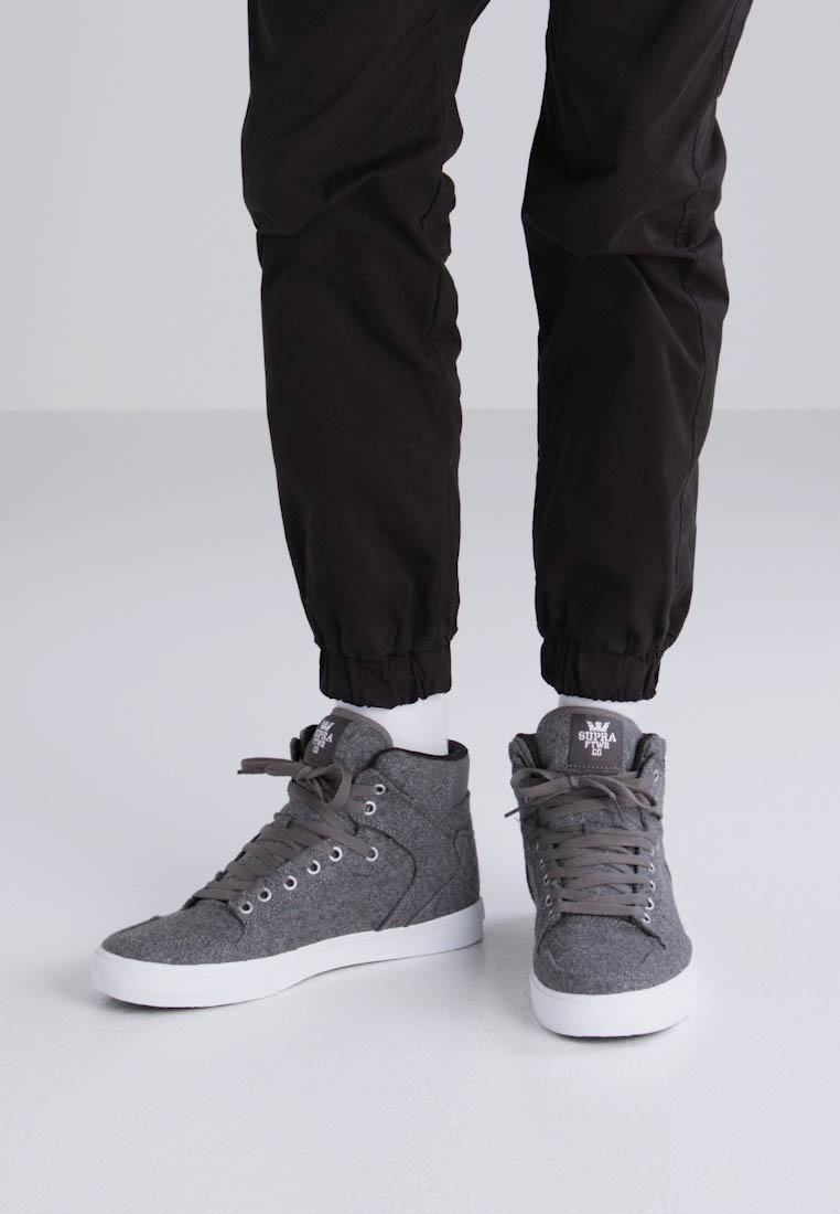 Supra VAIDER - Zapatillas altas mottled dark grey