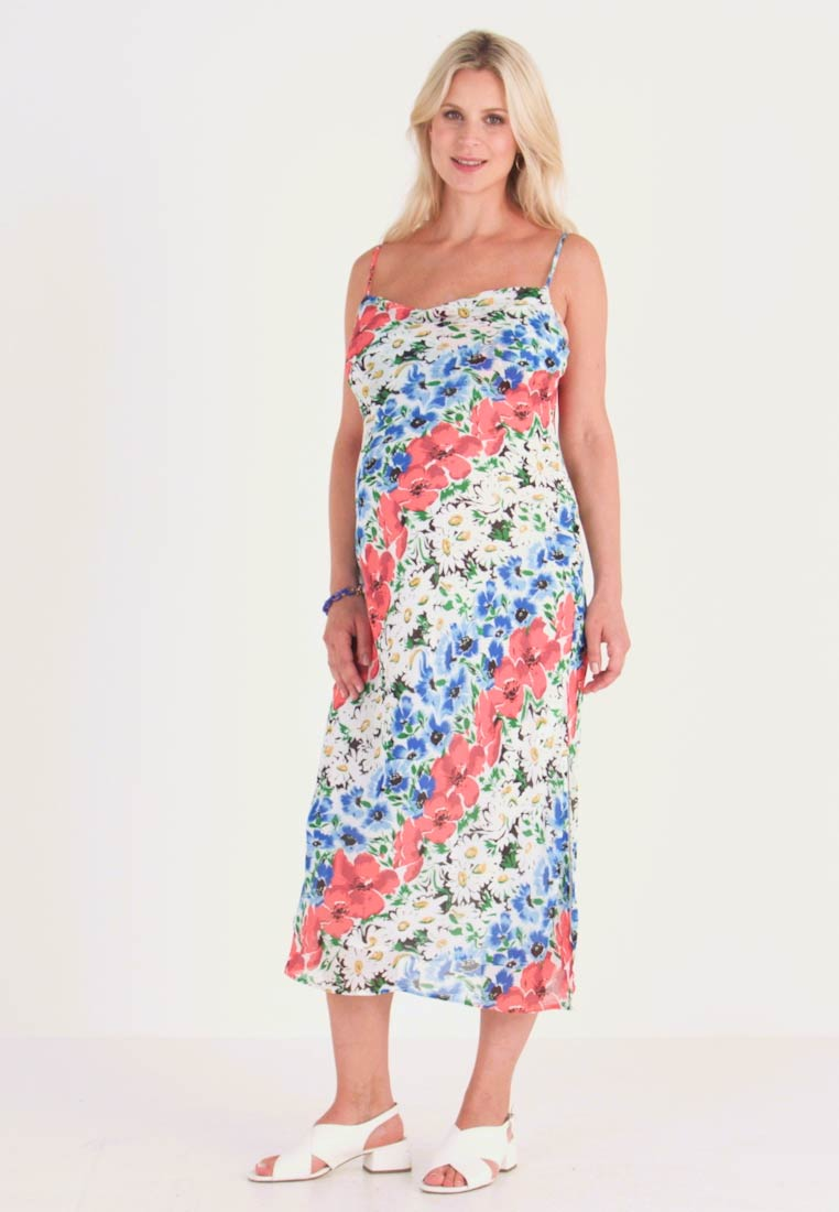 Topshop Maternity - GLITCH FLORAL DRESS - Maxikleid - multi-coloured