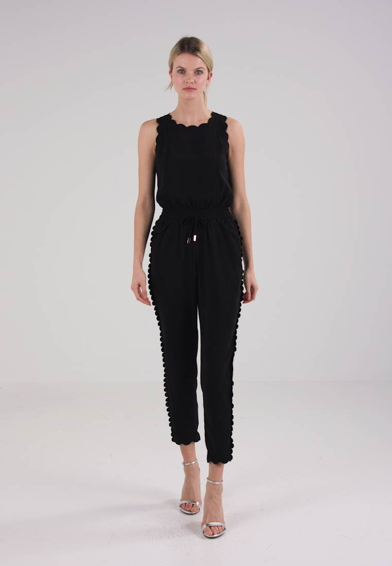 Ted Baker SIPPY SCALLOP DETAIL  - Jumpsuit - black