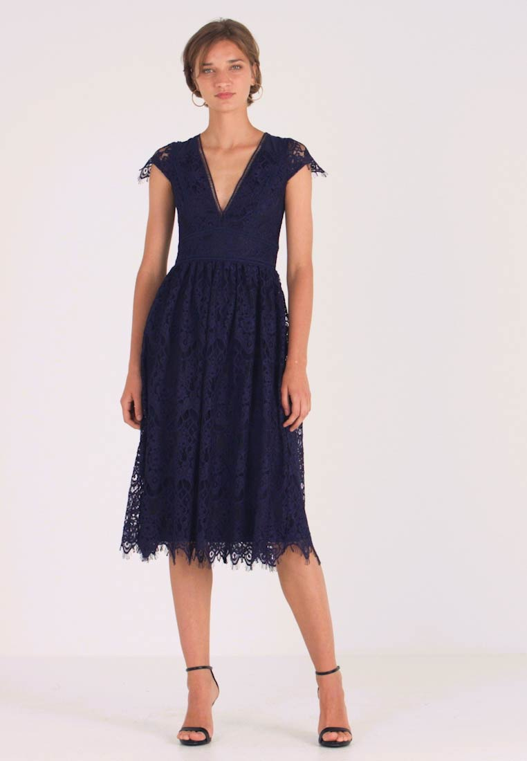 TFNC - ANORA MIDI DRESS - Cocktail dress / Party dress - dark blue