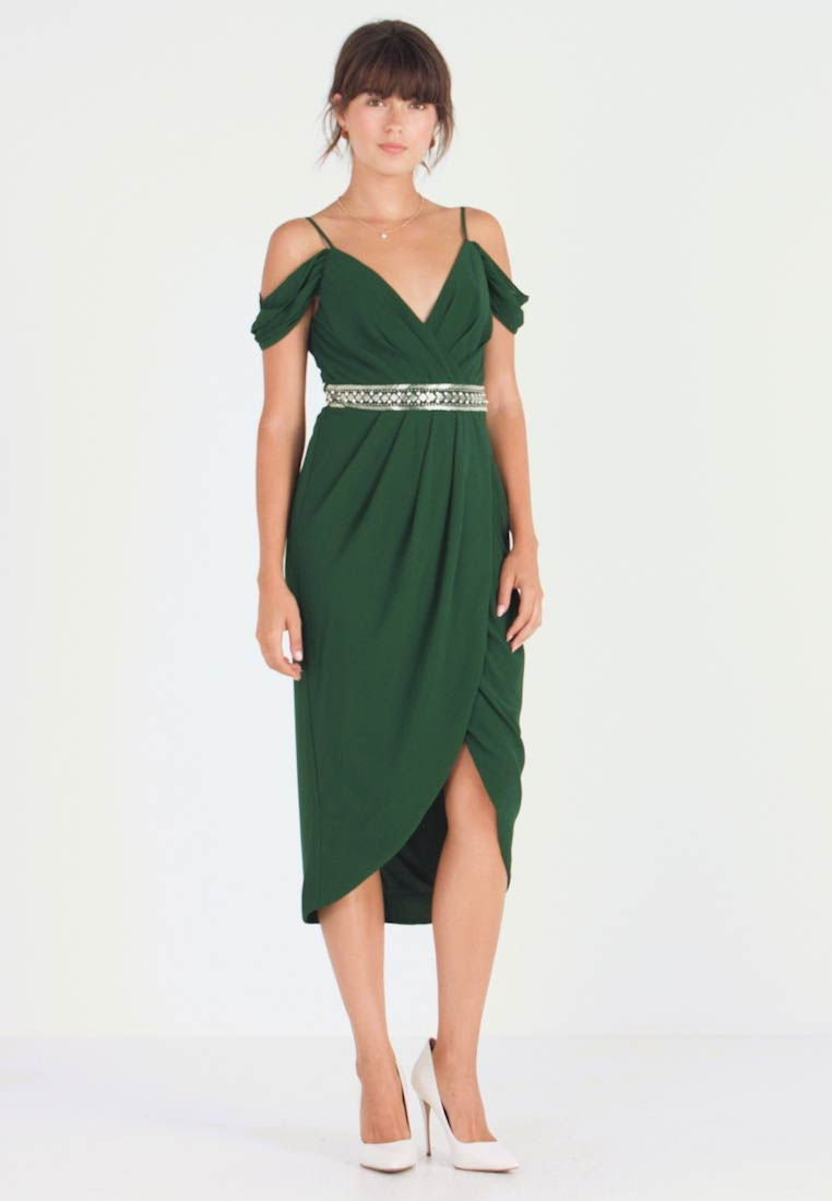 TFNC - WILLOW DRESS - Cocktailkleid/festliches Kleid - jade green