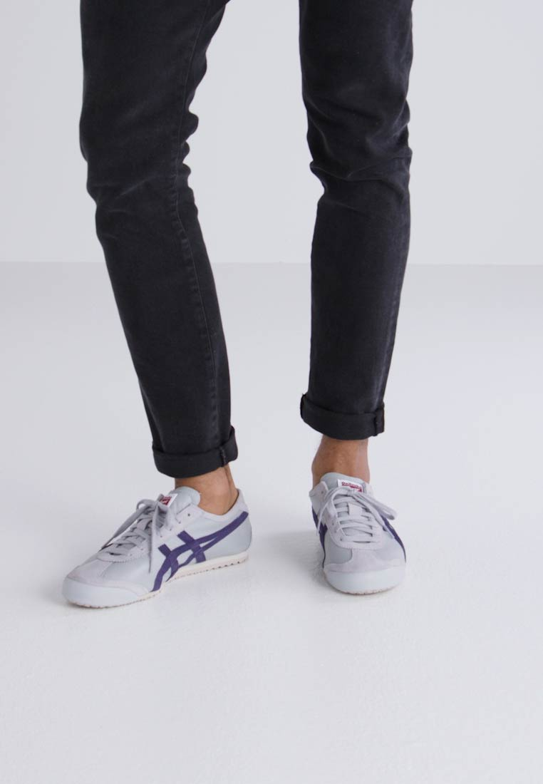 Onitsuka Tiger MEXICO - 66 - MEXICO Sneaker low - mid grey/peacoat  Tragbare Schuhe 6ad2bd