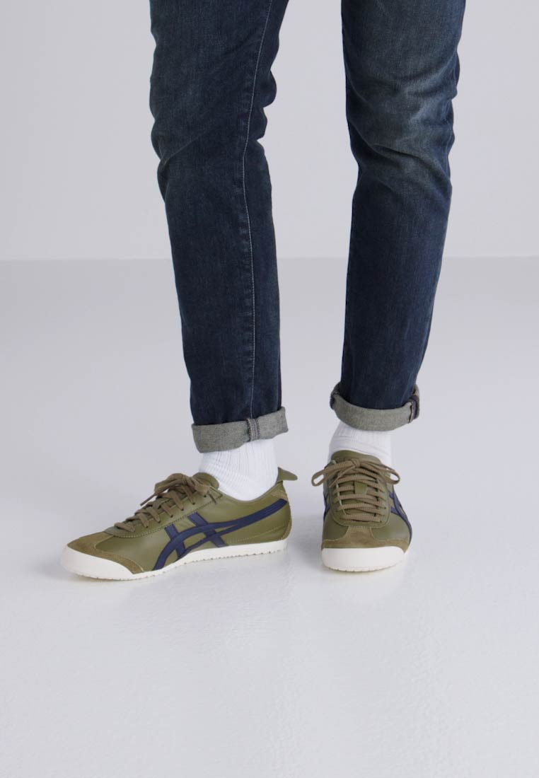 Onitsuka Tiger MEXICO 66 - Zapatillas martini olive/peacoat