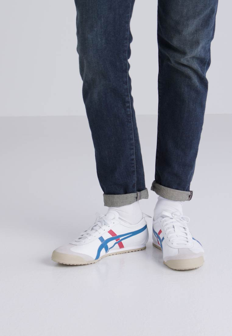 Onitsuka Tiger MEXICO 66 - Sneaker low low low - white/blue  Tragbare Schuhe ef9d19