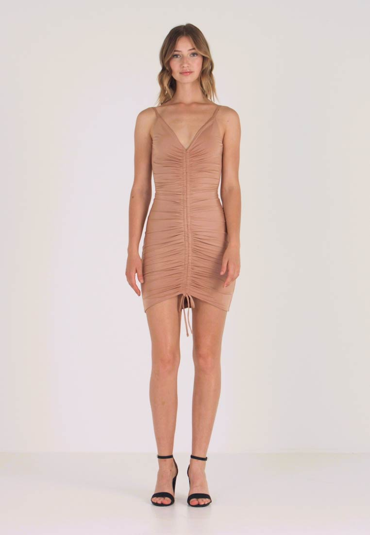 Tiger Mist - SASHA DRESS - Vestido de tubo - nude