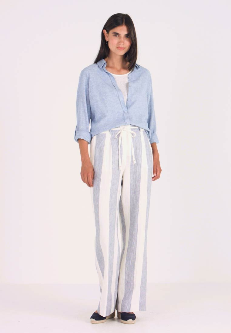 Tommy Hilfiger - MARTINA PULL ON PANT - Pantalon classique - blue