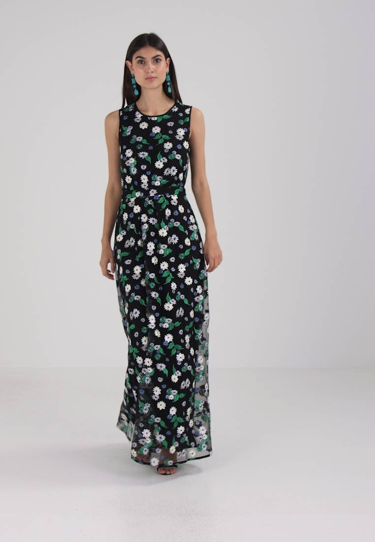 04f6ecf9f Tommy Hilfiger HEIDI DRESS - Maxi dress - black - Zalando.co.uk
